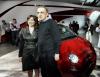 Laura Soave odpowiedzialna za Fiata w Ameryce Północnej ze swoim szefem Sergio Marchionne