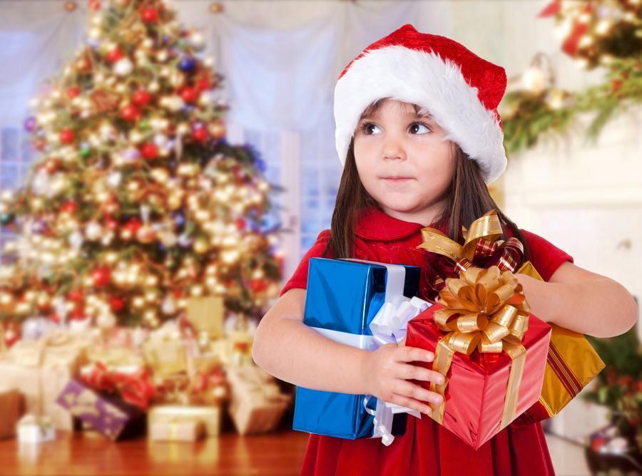 Nie zasypuj dziecka prezentami