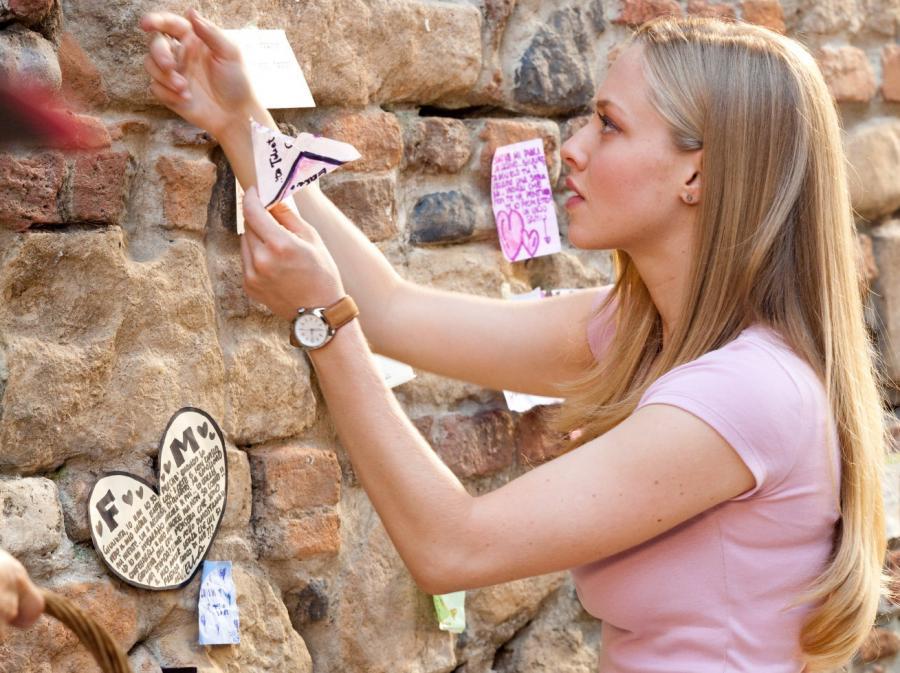 Amanda Seyfried jako współczesna Julia
