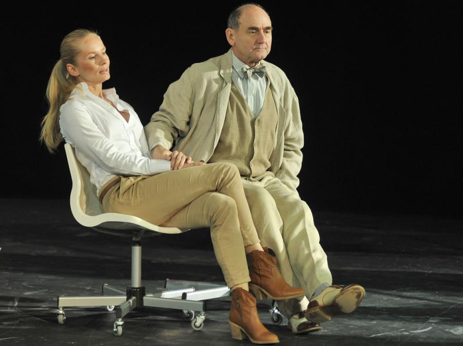 Magdalena Cielecka i Jan Peszek w \