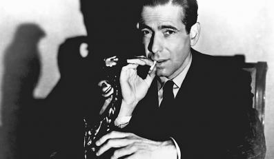 "Humphrey Bogart w filmie ""Sokół Maltański"""