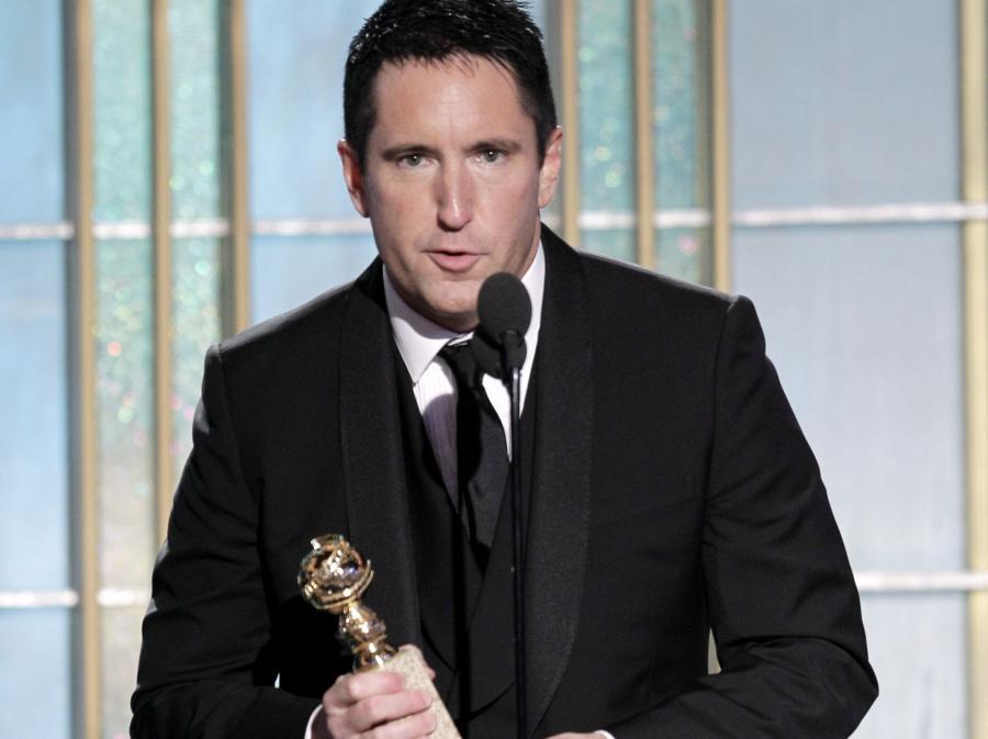 Trent Reznor ze swoim Globem. Potem Oscar?