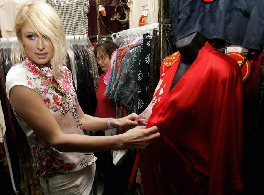 Paris Hilton w Szanghaju