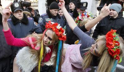 Protest ukraińskich feministek. Co pokazały tym razem?
