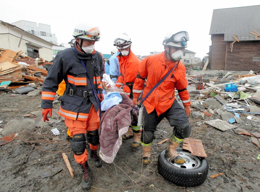Oto najnowszy bilans ofiar kataklizmu w Japonii