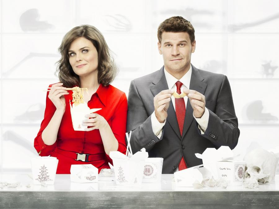 Emily Deschanel i David Boreanaz