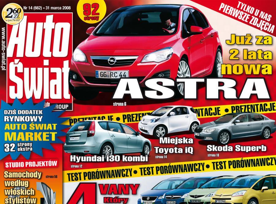 Nadjeżdża nowy Opel z Polski