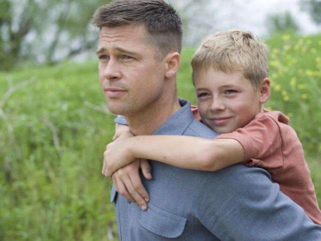 "Brad Pitt w ""The Tree of Life"""