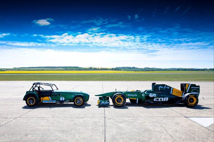 Caterham przejęty przez zespół Formuły 1 - Team Lotus Enterprises