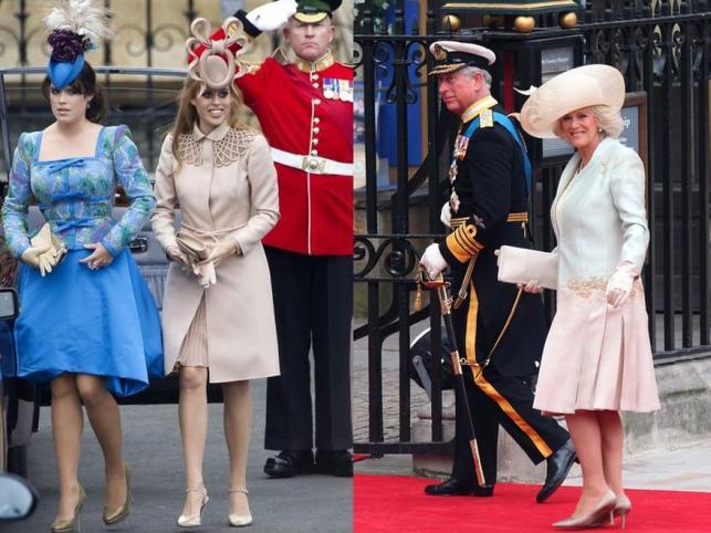 Koronowane głowy na ślubie Williama i Kate. Zobacz ich kreacje!