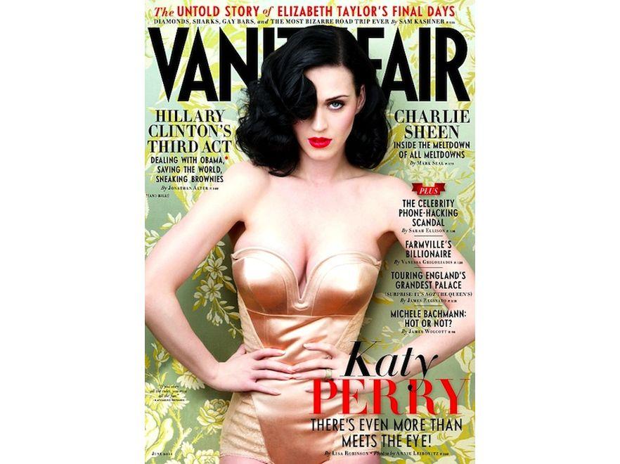 Katy Perry na okładce \