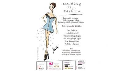 Modowe wariacje na II Warszawskich Targach Książki - Reading is a Fashion