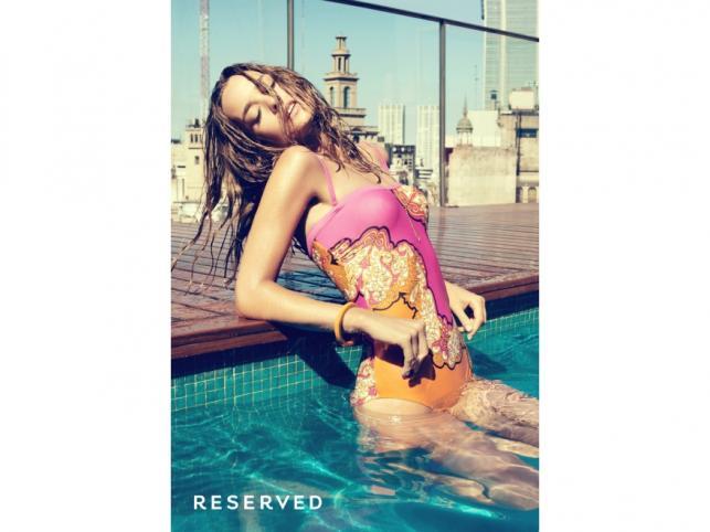Stroje kąpielowe dla niegrzecznych dziewczynek - kolekcja Reserved lato 2011