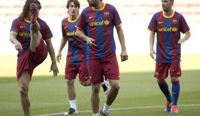 Piłkarze Barcelony musieli zmienić plany