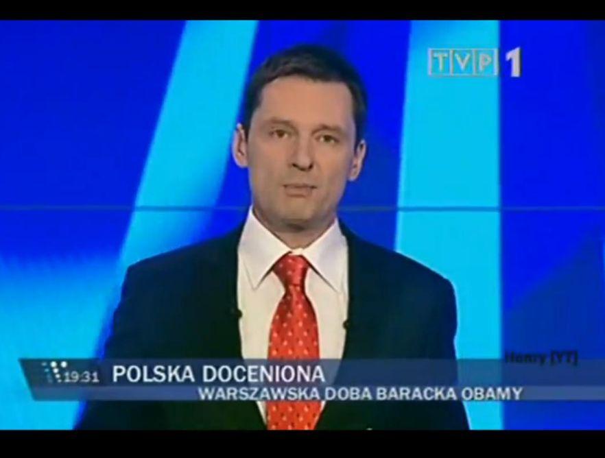 Krzysztof Ziemiec prowadzący \