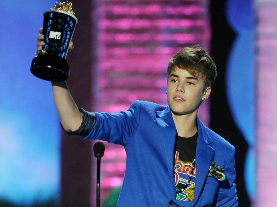 Justin Bieber z nagrodąMTV
