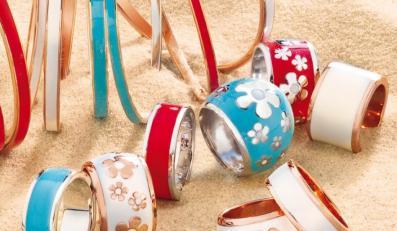 Odrobina luksusu w letnich kolorach - biżuteria W.Kruk z kolekcji Colores