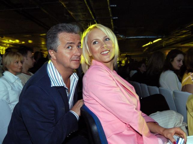 Anna Samusionek i Krzysztof Zuber
