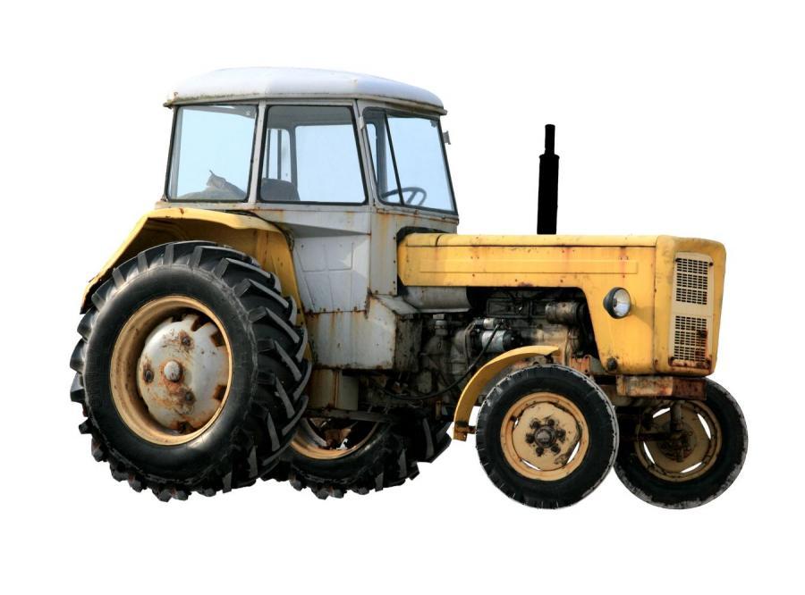 Traktor z Ursusa