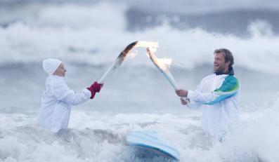 Ogień olimpijski dotrze w Kosmos, na Elbrus i na dno Bajkału