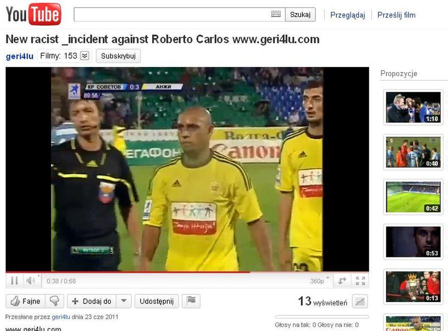 Carlos znów ofiarą \