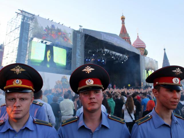 "Koncert Linkin Park na premierze ""Transformers 3"" w Moskwie"