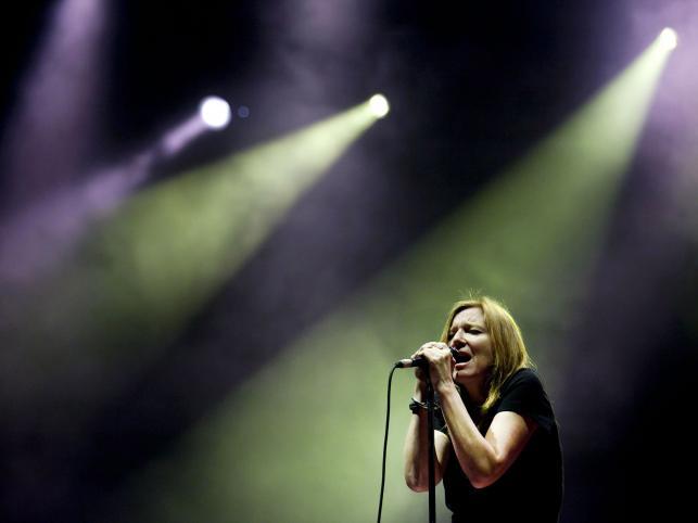 Beth Gibbons z Portishead na festiwalu EXIT w Serbii