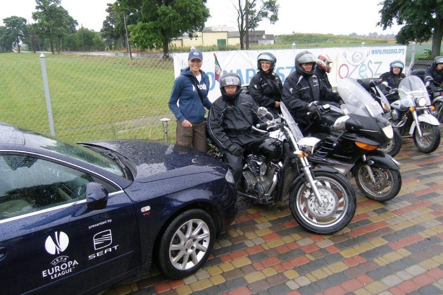 Rajd motocyklowy przez Polskę - \