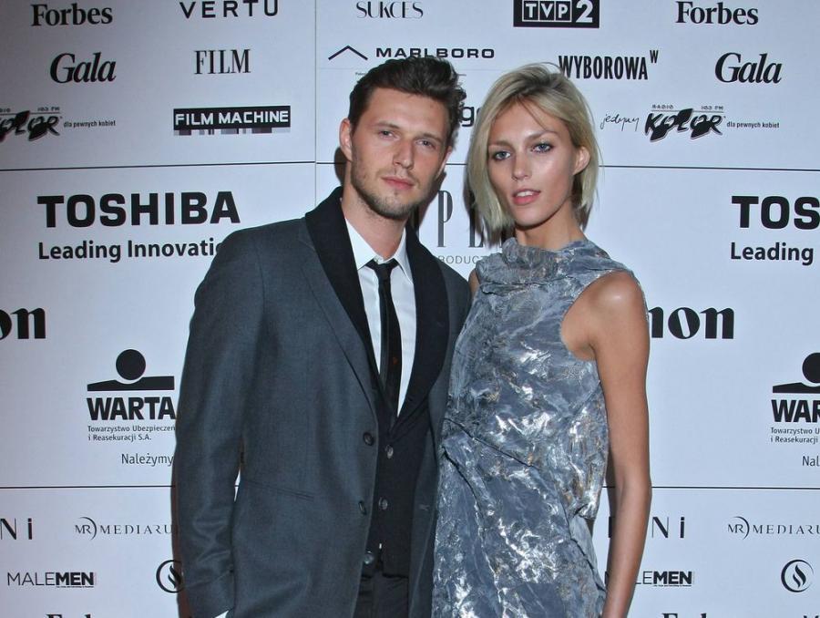 Anja Rubik i Sasha Knezevic