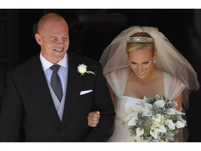 Kolejny ślub w rodzinie królewskiej. Zara Philips i Mike Tindall na ślubnym kobiercu