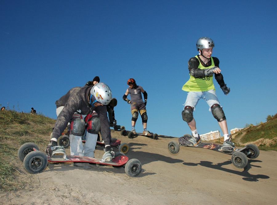 Mountainboarding - All Terrain Board (ATB)