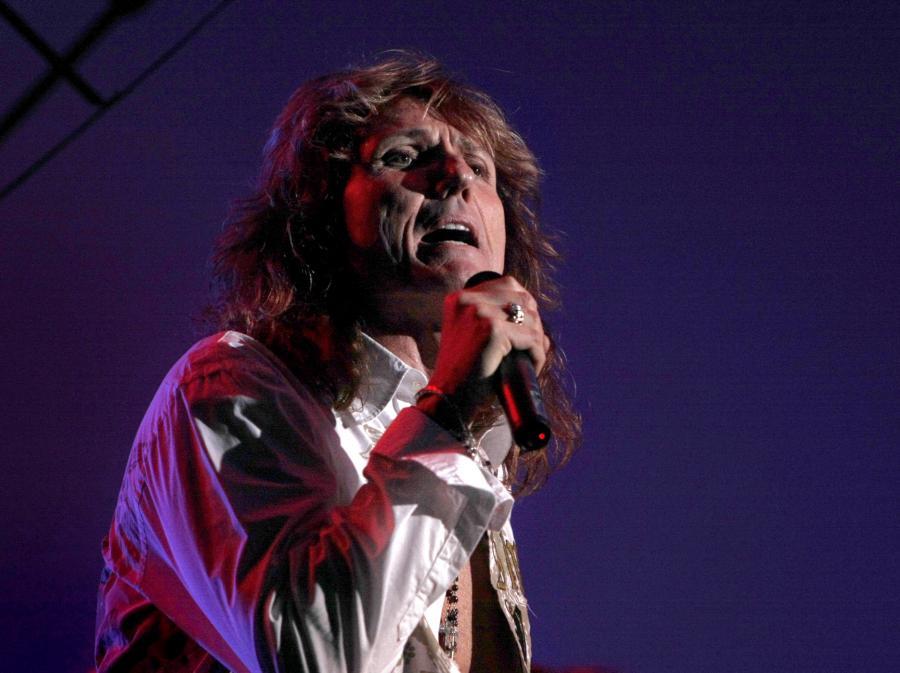 Davida Coverdale\'a z Whitesnake w Katowicach