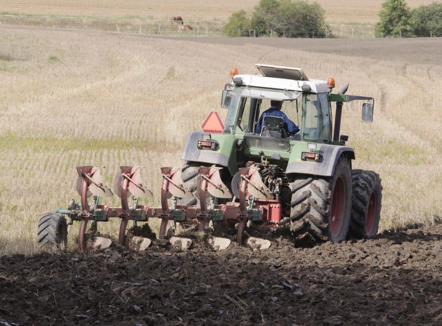 Rolnik w pracy