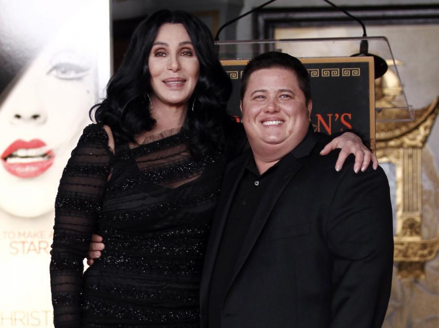 Cher i jej syn Chaz Bono