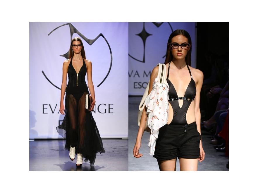 Ewa Minge włączyła do swojego portfolio okulary.
