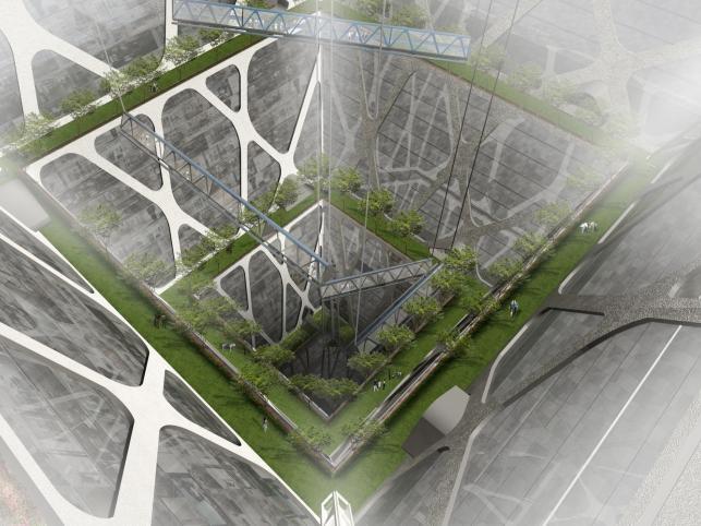 Niezwykły podziemny wieżowiec w Meksyku