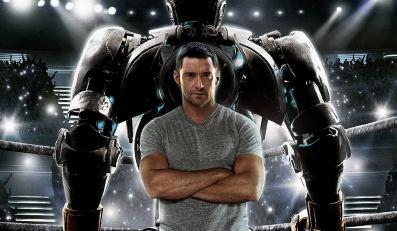 Hugh Jackman i gigant ze stali