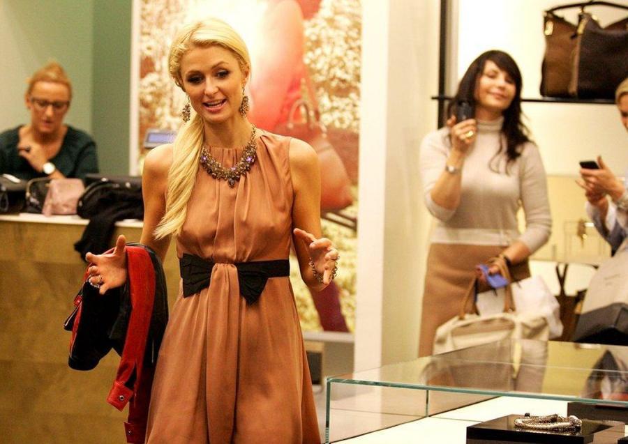 Paris Hilton zapmniała o staniku!
