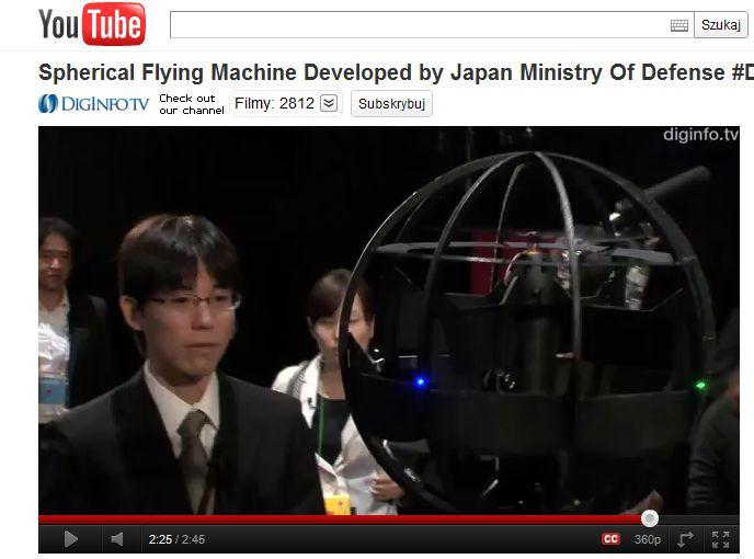 Japonia chwali się wojskową technologią