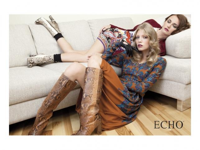 Kolekcja marki Echo na sezon jesień/zima 2011/2012 - zdjęcia z kampanii wizerunkowej.