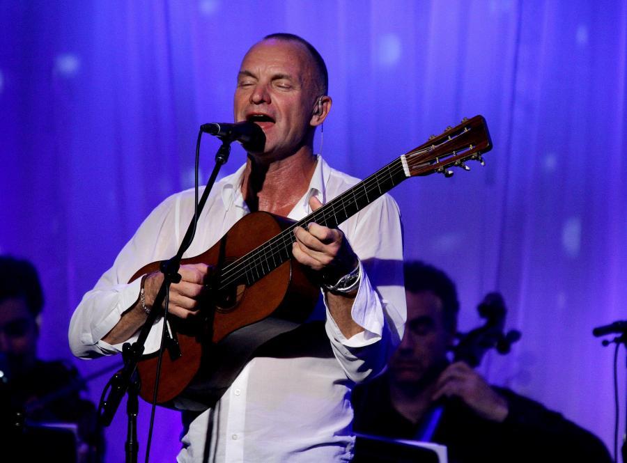 Na koncert Stinga można już kupować bilety