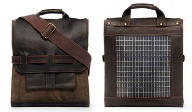 Skórzane torby od Noon Solar, model LOGAN
