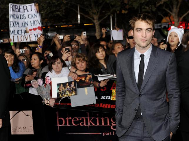 3. Robert Pattinson, lat 25, zarobił 38,8 millionów dolarów