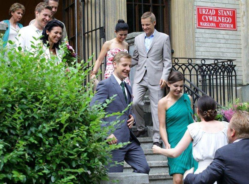 Ślub w \