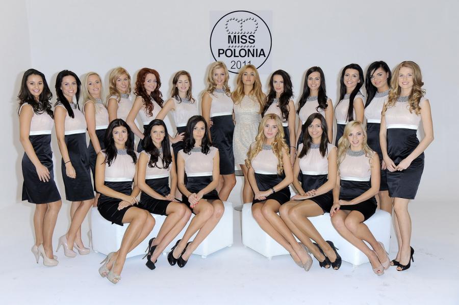 Miss Polonia 2010 Rozalia Mancewicz i finalistki Miss Polonia 2011