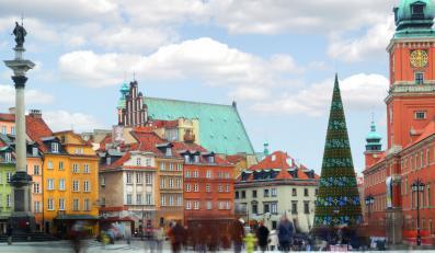 Panorama warszawskiej Starówki