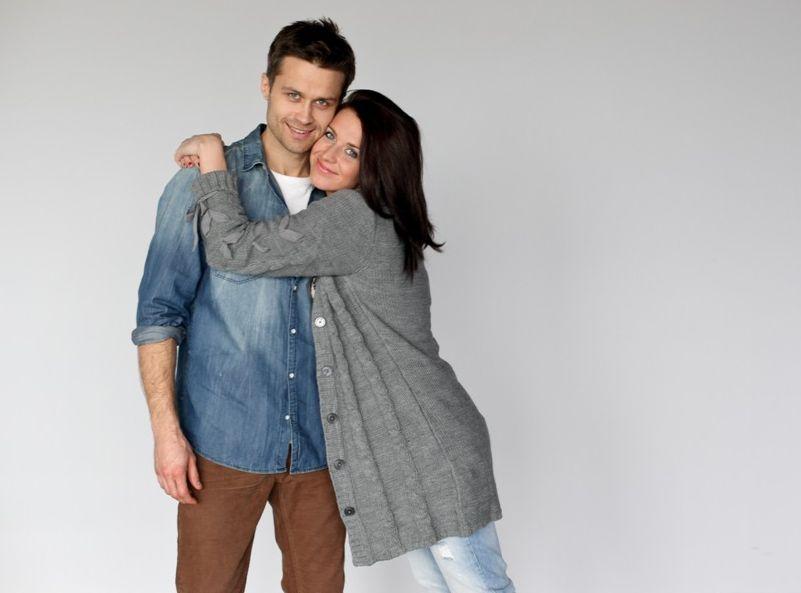 Maciej Zakościelny i Julia Kamińska w serialu \