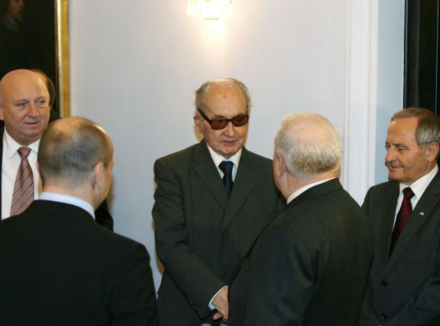 Wojciech Jaruzelski na posiedzeniu RBN