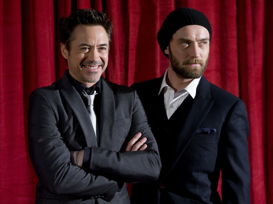 Robert Downey Jr. i Jude Law