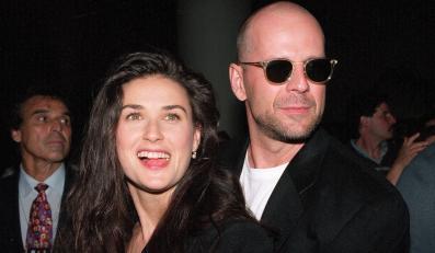 Demi Moore za starych, dobrych czasów z Brucem Willisem